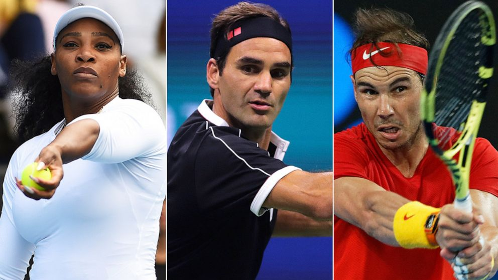 Serena Williams Roger Federer Rafael Nadal To Play Charity Tennis Match For Australia Fires Abc News