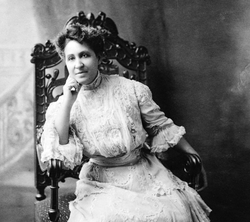 PHOTO: Portrait of American Civil Rights and Women's Suffrage activist and journalist Mary Church Terrell (1863 - 1954), late 19th century.