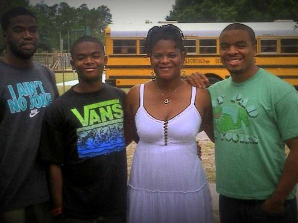 PHOTO: Terrie Campbell is pictured here with her family.