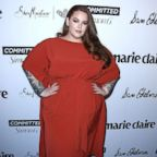 Tess Holliday arrives at the Marie Claire's 5th Annual 'Fresh Faces'  at Poppy on April 27, 2018 in Los Angeles.  (Photo by Steve Granitz/WireImage)