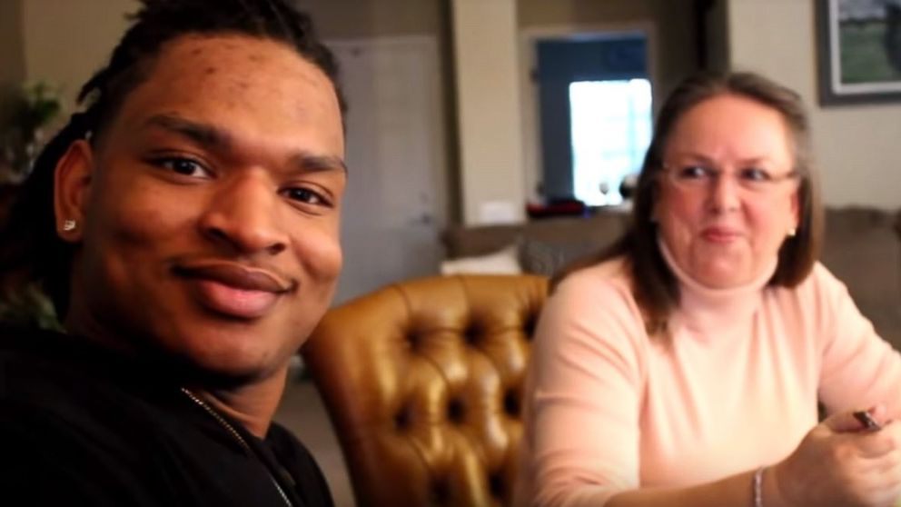 Jamal Hinton and his girlfriend enjoyed a Thanksgiving meal with Wanda Dench for the third year in a row after an accidental text exchange brought them together three years ago.