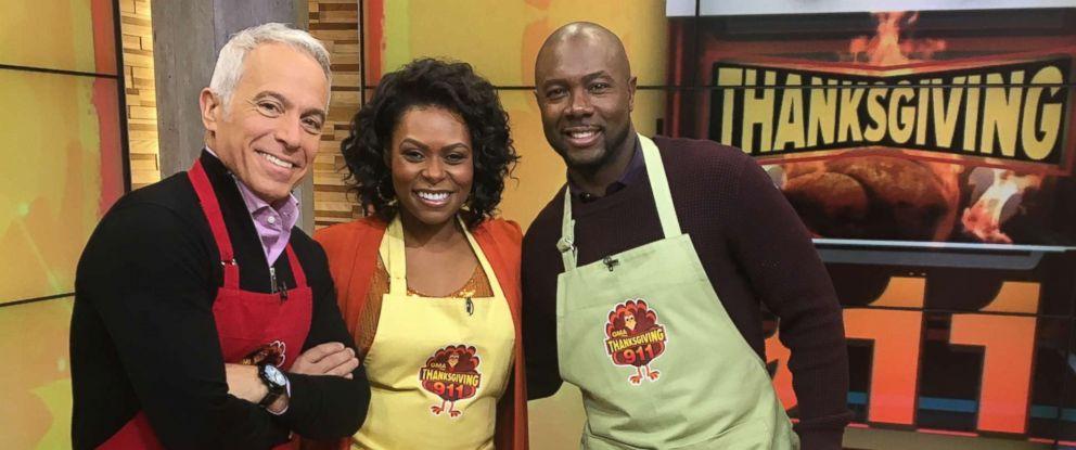 PHOTO: Celebrity chefs Jamika Pessoa, Geoffrey Zakarian and Eddie Jackson share their top tips for turkey day.