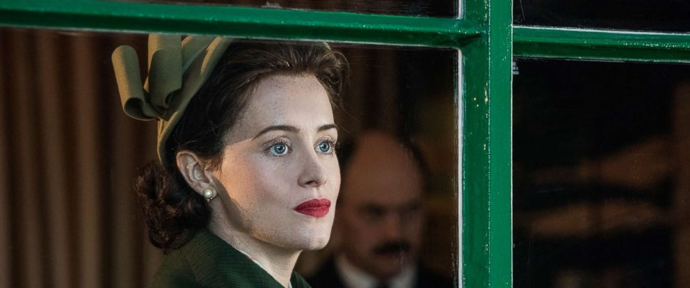 """PHOTO: Claire Foy appears in a scene from """"The Crown."""""""