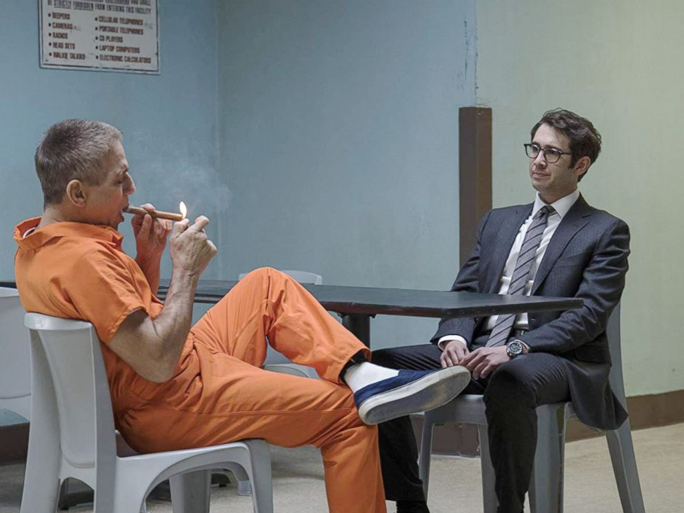 PHOTO: Tony Danza and Josh Groban in a scene from The Good Cop.