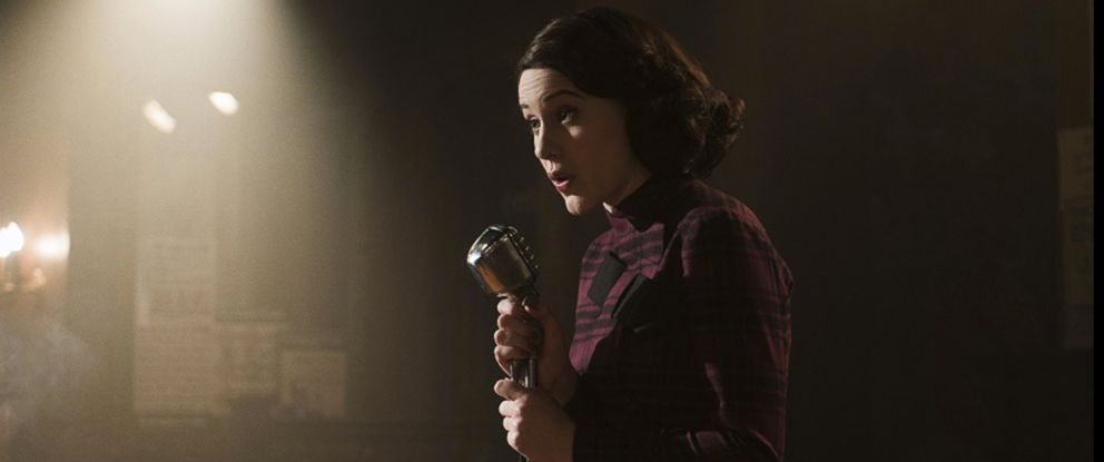 "PHOTO: Rachel Brosnahan in ""The Marvelous Mrs. Maisel."""