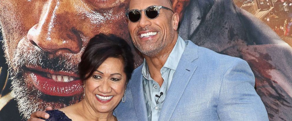 """PHOTO: Ata Johnson and actor/producer Dwayne Johnson attend the """"Skyscraper"""" New York premiere at AMC Loews Lincoln Square, July 10, 2018, in New York."""