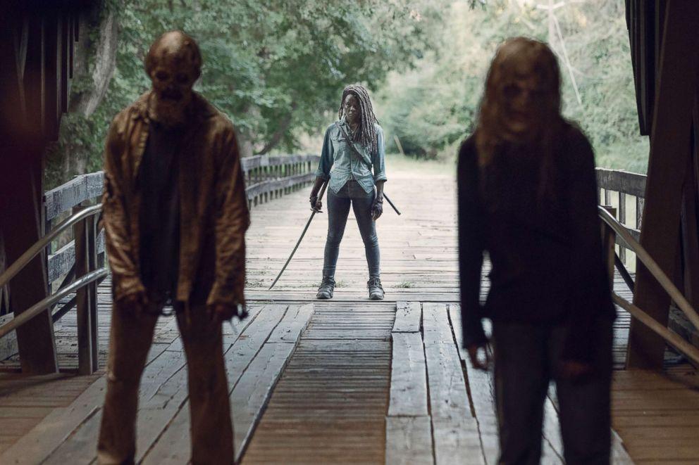 PHOTO: Danai Gurira as Michonne on The Walking Dead.