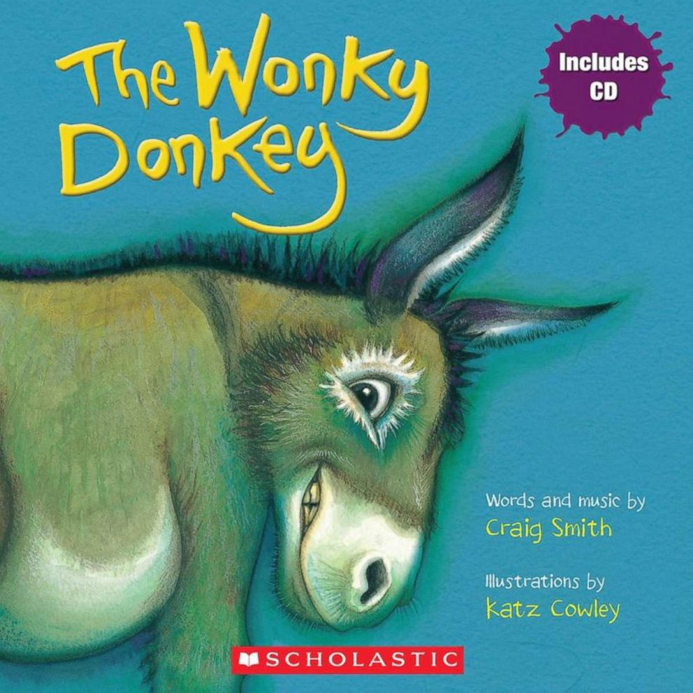 PHOTO: Cover of The Wonky Donkey by Craig Smith.