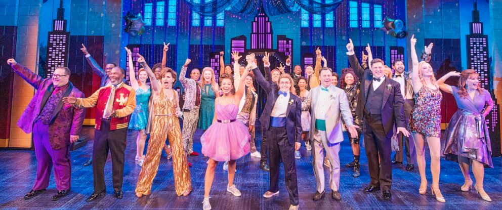 "PHOTO: The cast of ""The Prom"" musical on Broadway."