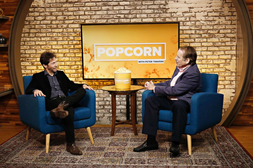 PHOTO: Tim Blake Nelson appears on Popcorn with Peter Travers at ABC News studios, Oct 5, 2018, in New York City.