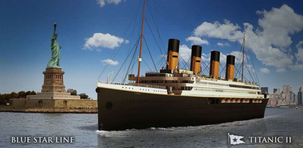 Titanic Ii Luxury Vessel To Set Sail In 2022 Abc News