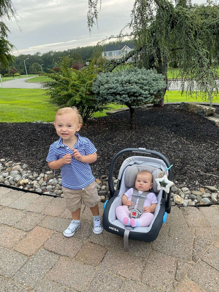 PHOTO: A 2-year-old named Beau and his baby sibling Ainsley, 6 months, are getting love from millions on TikTok after mom posted a video of the toddlers talent for keeping his sister from crying. The video has garnered 4.5 million views.
