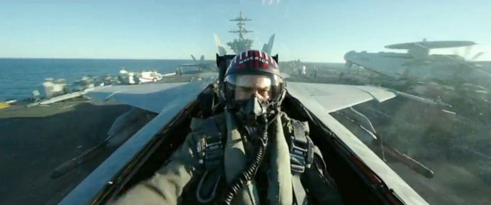 "PHOTO: Tom Cruise, as Maverick, in a scene from ""Top Gun: Maverick."""