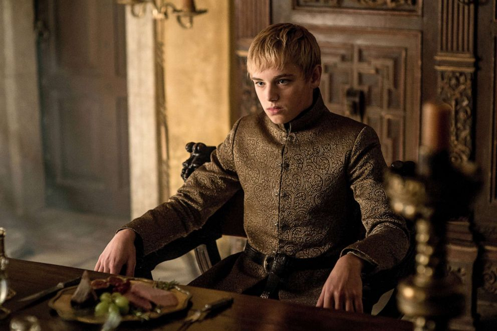 Dean-Charles Chapman, as Tommen Baratheon, in a scene from 'Game of Thrones.'