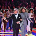 Fashion designer Tommy Hilfiger and Zendaya Coleman walk the runway during the Tommy Hilfiger TOMMYNOW Spring/Summer 2019 : TommyXZendaya Premieres at Theatre des Champs-Elysees, March 2, 2019 in Paris.