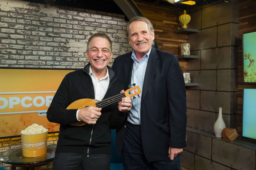 PHOTO: Tony Danza appears on Popcorn with Peter Travers at ABC News studios, Sept. 24, 2018, in New York City
