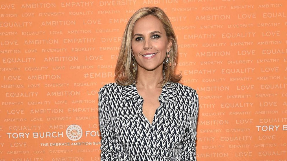 Tory Burch poses during the Tory Burch Foundation 2018 Embrace Ambition Summit at Alice Tully Hall, April 24, 2018, in New York City.