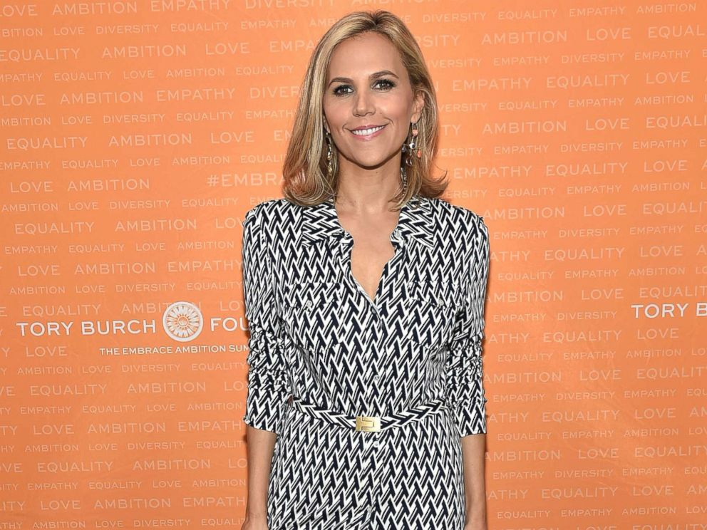 PHOTO: Tory Burch poses during the Tory Burch Foundation 2018 Embrace Ambition Summit at Alice Tully Hall, April 24, 2018, in New York City.