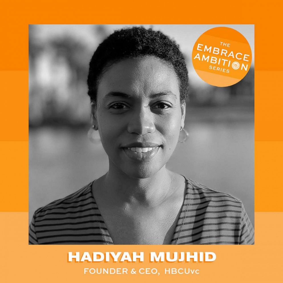 PHOTO: Hadiyah Mujhid is the founder of the non-profit organization HBCUvc.