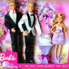 When engaged couple Matt Jacobi and Nick Caprio couldn't find a same-sex Barbie wedding couple to gift their niece, they made their own.
