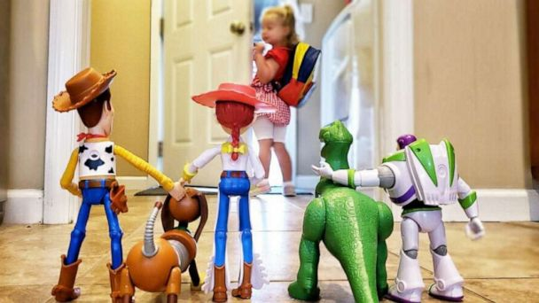 3-year-old's adorable 'Toy Story' back-to-school photo is 'to infinity and beyond'