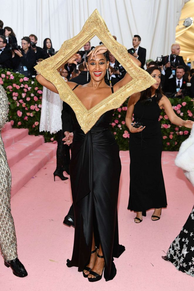 PHOTO: Tracee Ellis Ross attends the 2019 Met Gala Celebrating Camp: Notes on Fashion at the Metropolitan Museum of Art, May 6, 2019, in New York City.