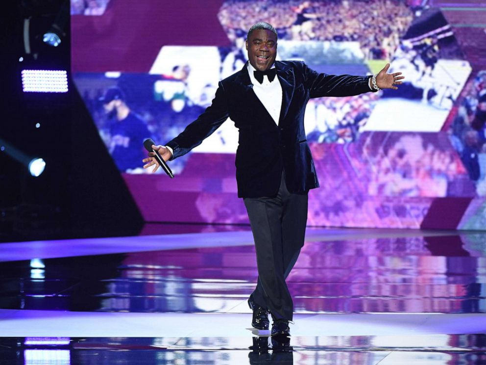PHOTO: Host Tracy Morgan takes the stage at the 2019 ESPYs, July 10, 2019 in Los Angeles.