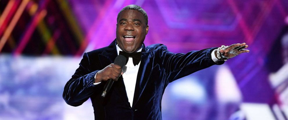 PHOTO: Host Tracy Morgan speaks onstage during The 2019 ESPYs at Microsoft Theater, July 10, 2019, in Los Angeles.
