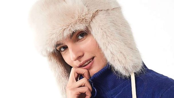dfa7d35b50d Snow day styles for under  100. Snowball Faux Fur Trapper Hat