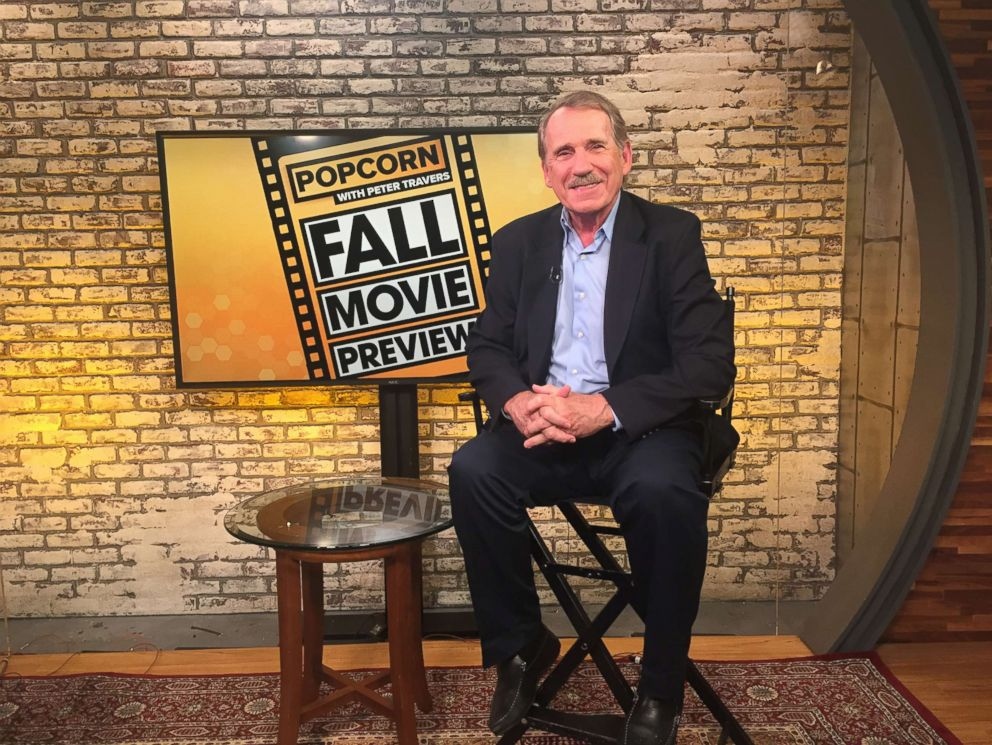 PHOTO: Peter Travers at the ABC News studios, Aug. 15, 2018, in New York City.