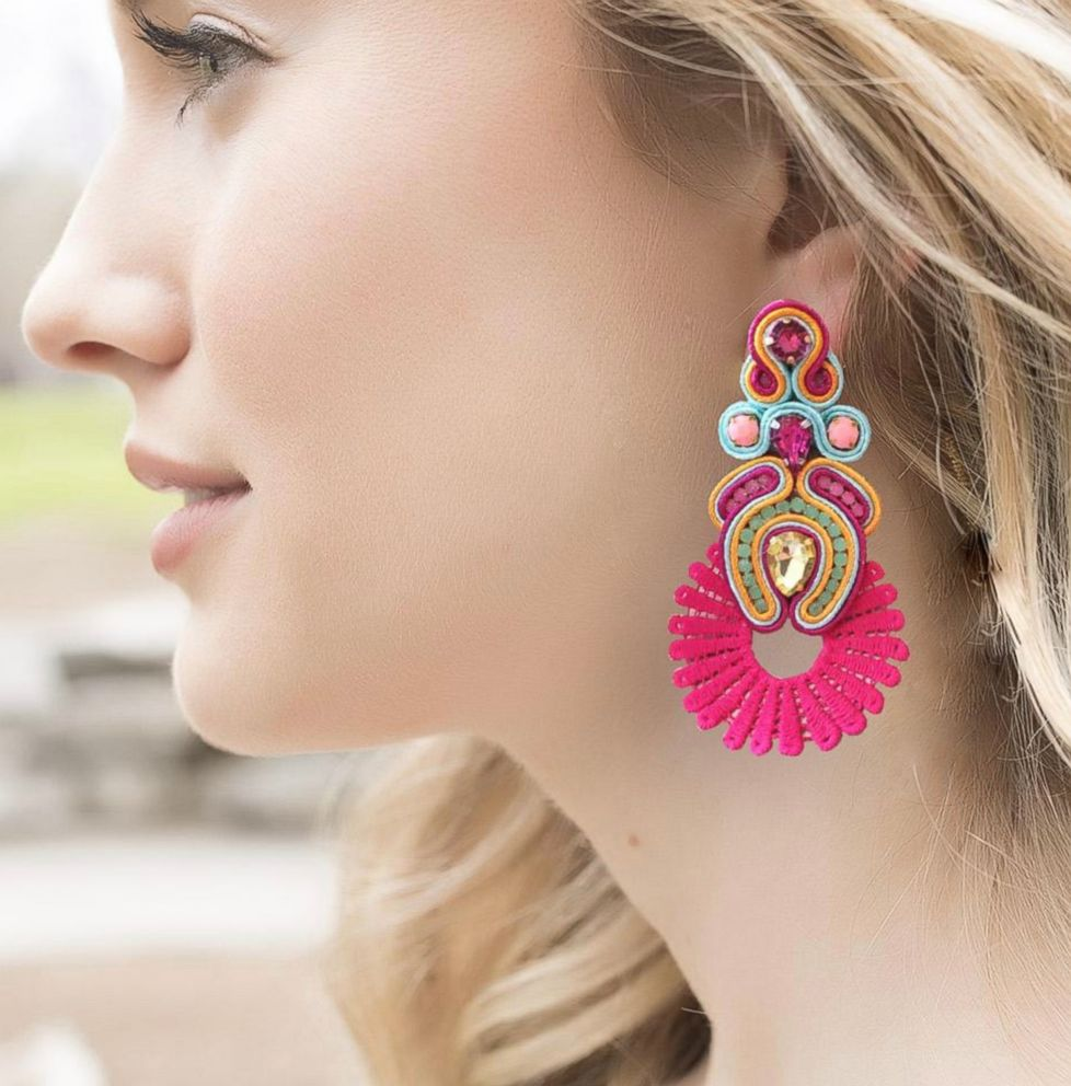 PHOTO: Treasure Jewels earrings are pictured here.