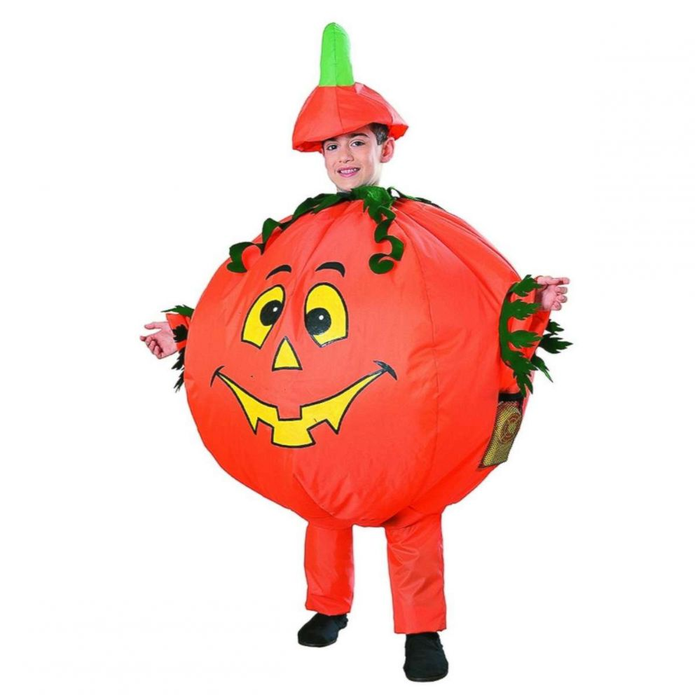 PHOTO: This Pumpkin Inflatable Child Costume is available for $31.79.