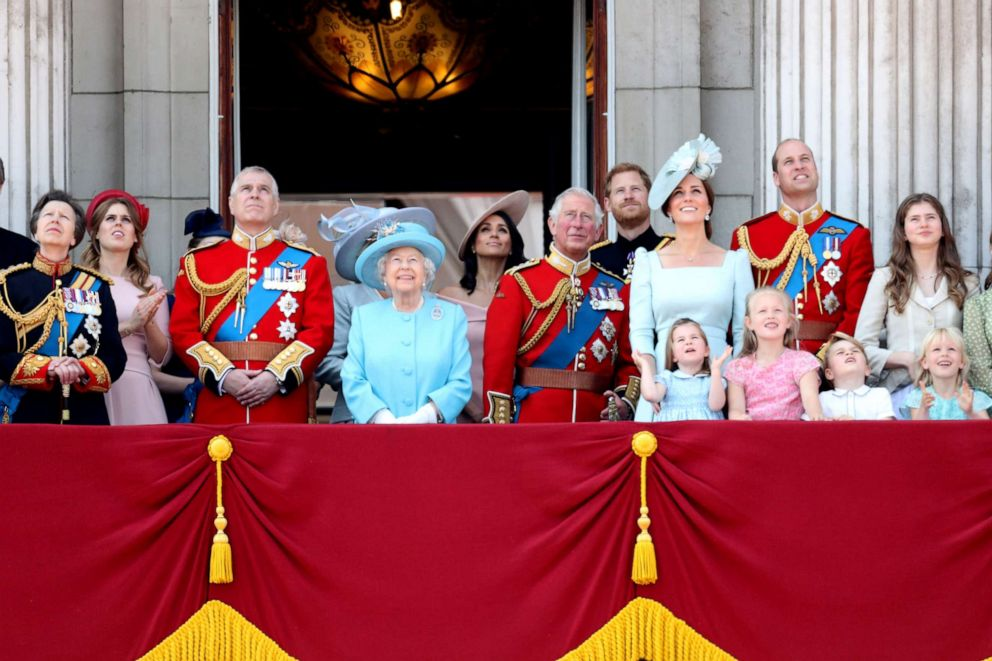 Best photos of the royals at Trooping the Colour through the years
