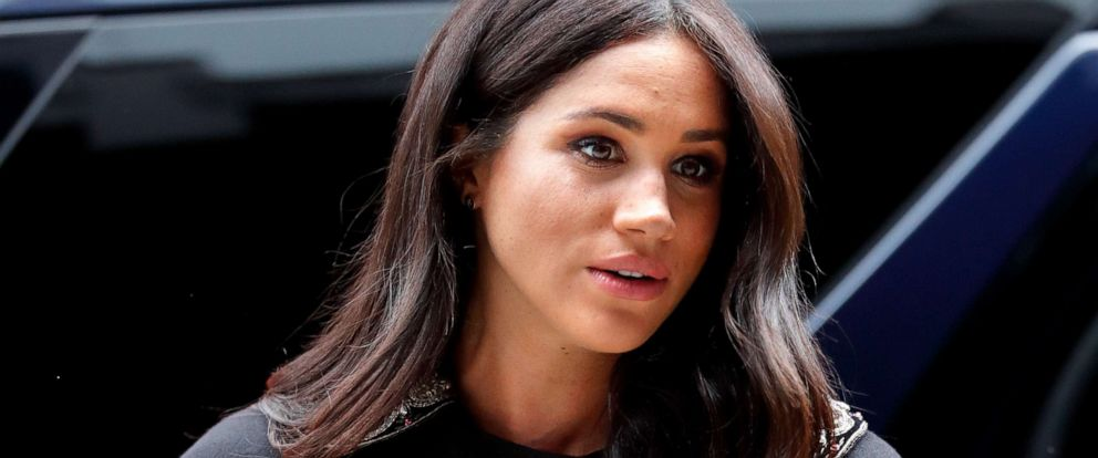 PHOTO: Meghan Markle, Duchess of Sussex, visits New Zealand House on March 19, 2019, in London, England.