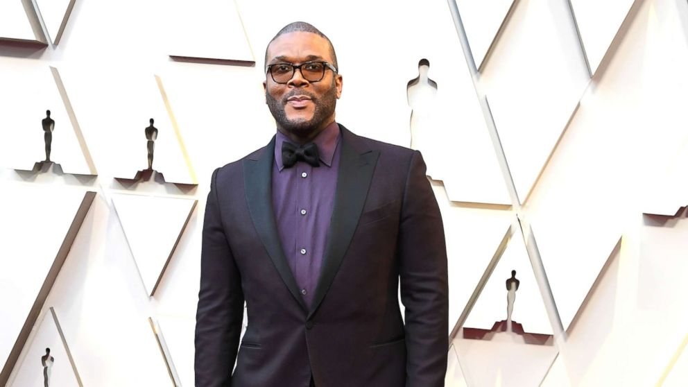 Tyler Perry arrives at the 91st Annual Academy Awards at Hollywood and Highland, Feb. 24, 2019 in Hollywood, Calif.