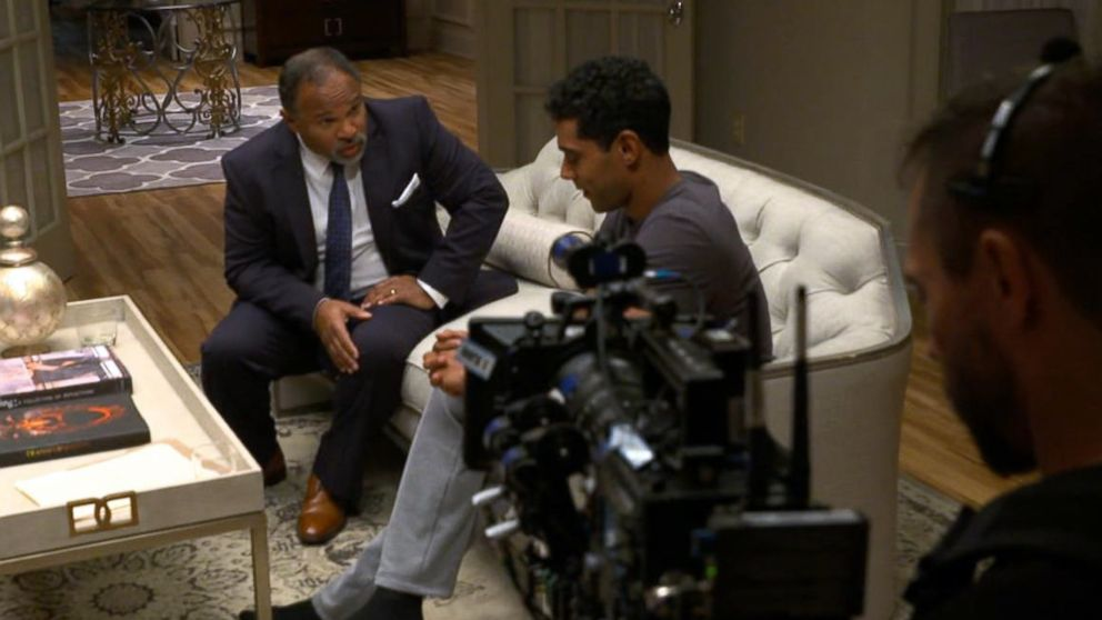 """Geoffrey Owens acts in a scene on Tyler Perry's """"The Haves and the Have Nots."""""""