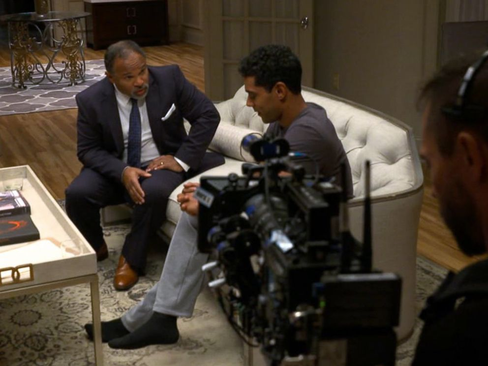 PHOTO: Geoffrey Owens acts in a scene on Tyler Perrys The Haves and the Have Nots.