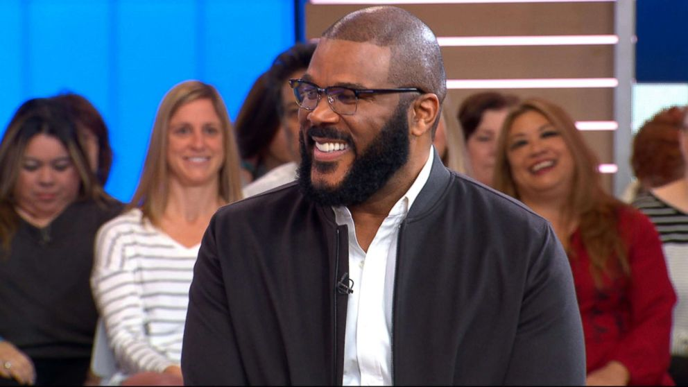 PHOTO: Tyler Perry appears on Good Morning America, Oct. 30, 2018.