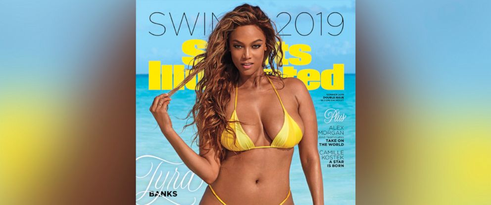 PHOTO: Summer 2019 Sports Illustrated cover with Tyra Banks in Great Exuma, Bahamas is on sale now.