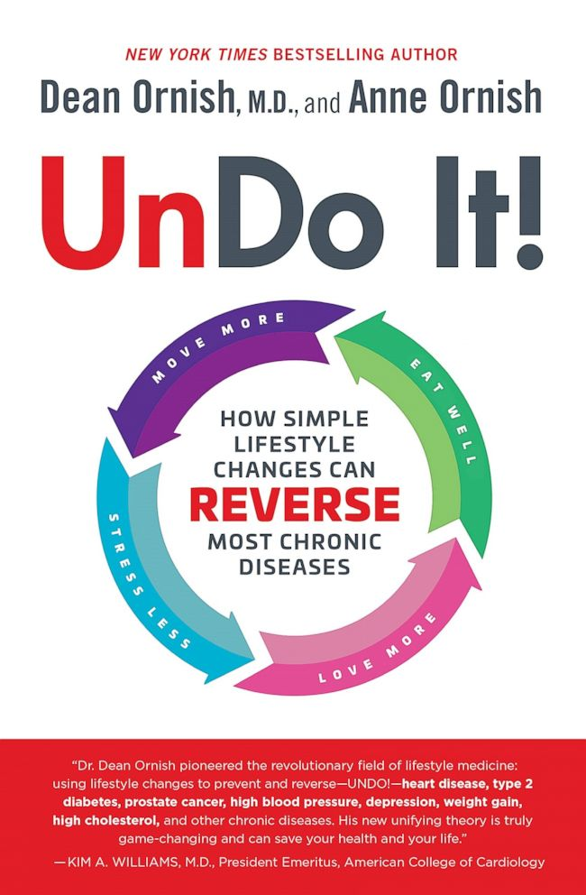 PHOTO: Undo It!: How Simple Lifestyle Changes Can Reverse Most Chronic Diseases by Dean Ornish and Anne Ornish