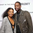 """Gabrielle Union and Dwyane Wade attend the premiere of """"Shot In The Dark"""" during NBA All-Star Weekend, Feb. 15, 2018, in Los Angeles."""