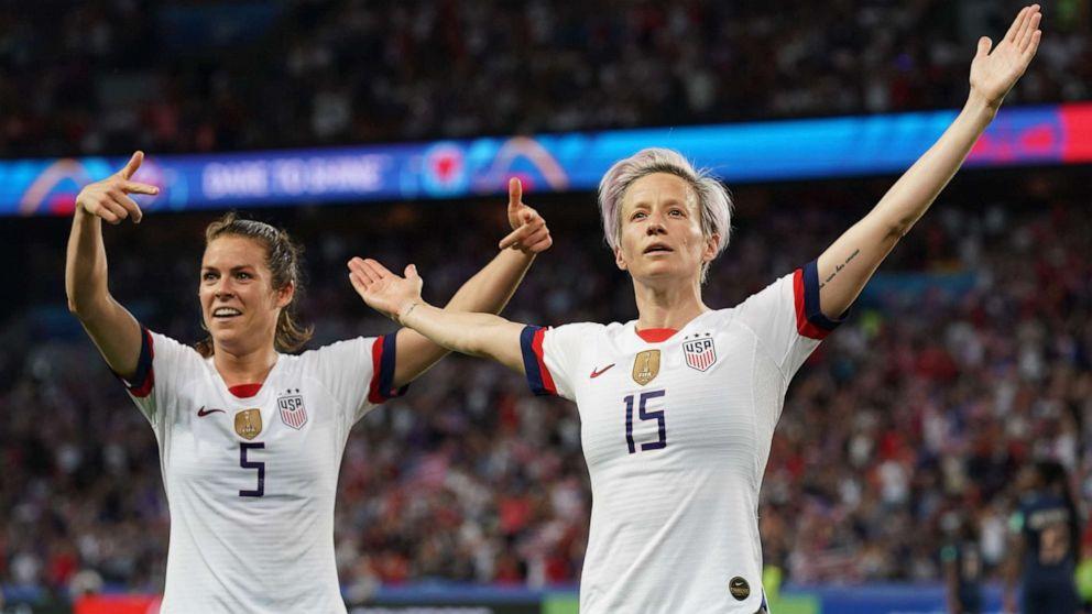 new styles 96fcf a6186 US women's soccer jersey is No. 1 Nike seller as team gears ...