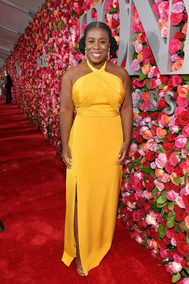 PHOTO: NUzo Aduba attends the 72nd Annual Tony Awards at Radio City Music Hall on June 10, 2018 in New York City.