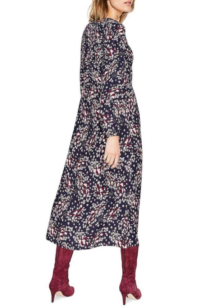 PHOTO: Boden, V-Neck Everyday Midi Dress $120