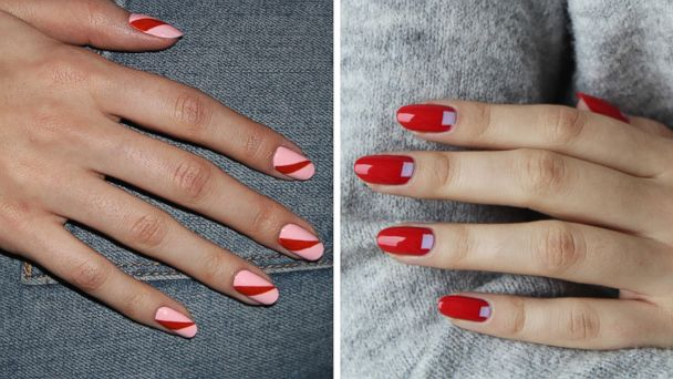 7 Valentine S Day Nail Art Ideas That Are Anything But Tacky Gma