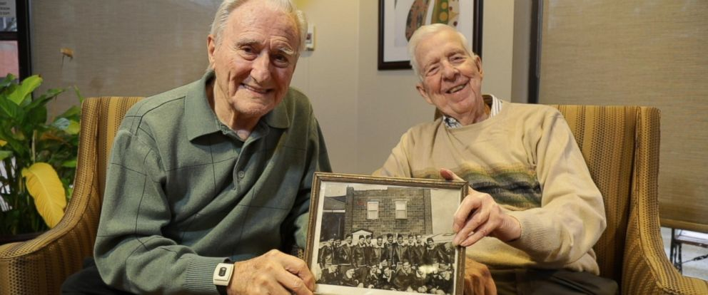 """PHOTO: Wes Piros (left) and Bob Adams (right) are two U.S. Air Force vets who opened up in an interview with """"GMA."""""""