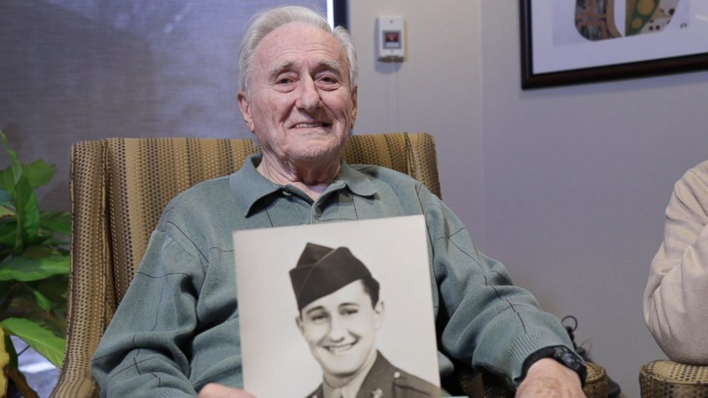 PHOTO: Wes Piros, 95, a U.S. Air Force veteran opens up in an interview with GMA.