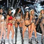 Victoria's Secret's Angels take to the runway for the 2018 Victoria's Secret Holiday Special, Nov. 13, 2018.