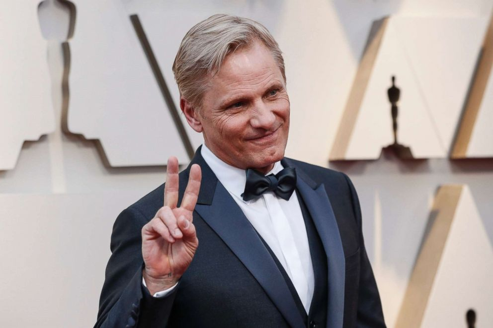 PHOTO: Viggo Mortensen arrives at the 91st Academy Awards in Los Angeles, Feb. 24, 2019.
