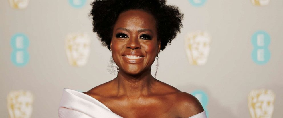 PHOTO:Viola Davis poses on the red carpet upon arrival at the British Academy Film Awards in London on Feb. 10, 2019.